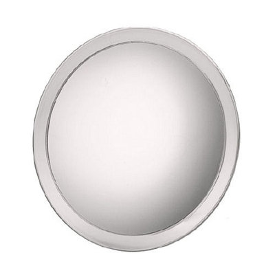 Jerdon Suction Cup Mirror 9 inch with 5X Magnification