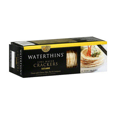 Waterthins Sesame Crackers