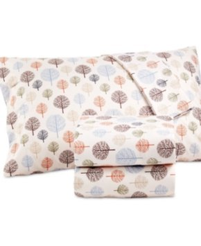 Shavel Microflannel Printed Queen Sheet Set Bedding