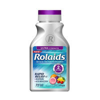 Rolaids Ultra Strength Antacid/Dietary Supplement Chewable Assorted