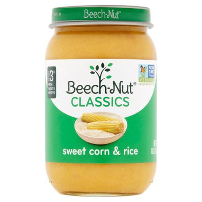 Beech-Nut® Stage 3 Classics Sweet Corn & Rice