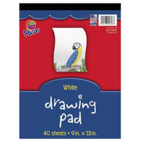 Pacon Corporation Drawing Pad - White (9x12