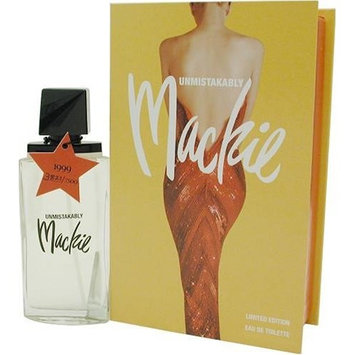 Unmistakably Mackie By Bob Mackie For Women. Eau De Toilette Spray 3.4 Ounces