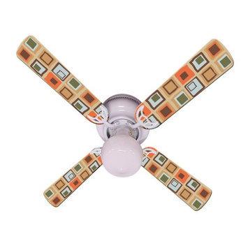 Ceiling Fan Designers Millennium Indoor Ceiling Fan, Size: 42 in.