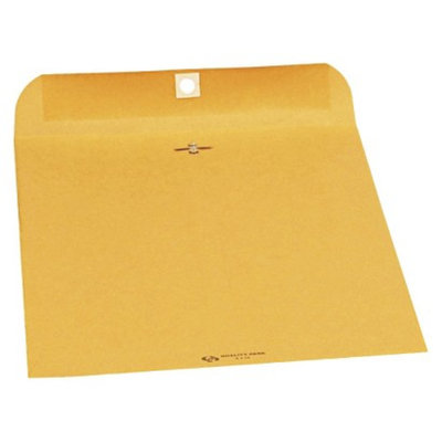 Quality Park Clasp Envelope, Side Seam-Brown (250 Per)