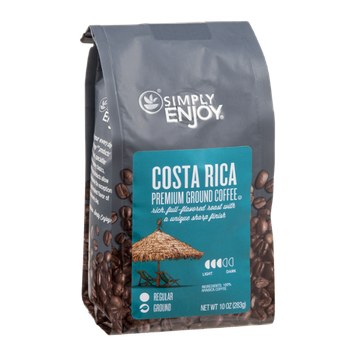 Ahold Simply Enjoy Premium Ground Coffee Costa Rica