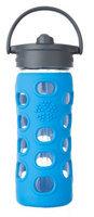 Glass Bottle with Straw Cap Ocean Lifefactory 12 oz Bottle