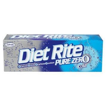 Diet Rite Pure Zero Cola
