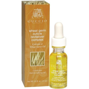 Cuccio Cuticle Oil, Wheat Germ, 0.5 Ounce