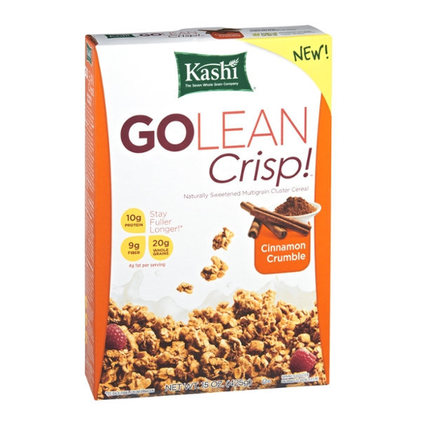 Kashi® GOLEAN Crisp Cinnamon Crumble Cereal Reviews 2019