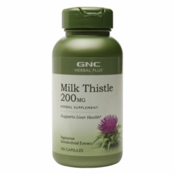 Gnc GNC Herbal Plus(r) Milk Thistle 200 MG