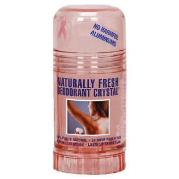 TCCD International Naturally Fresh Deodorant Crystal, 4.25-Ounces (Pack of 3)