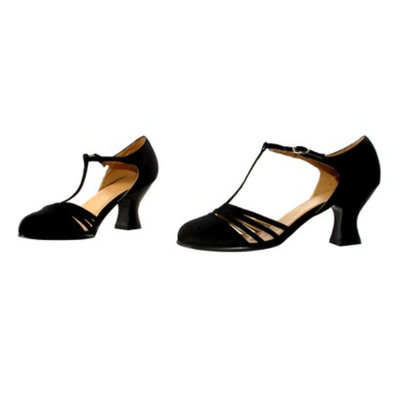 Buy Seasons Lucille Blk Adult Shoes - 7.0