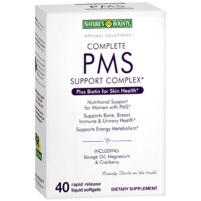 Nature's Bounty Optimal Solutions Complete PMS Support Complex