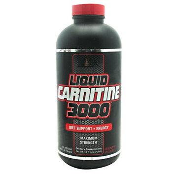 Nutrex Research 2710122 16 oz. Liquid Carnitine 3000 Berry Blast