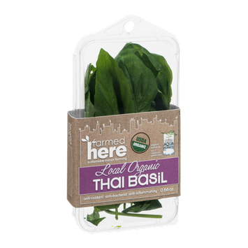FarmedHere Local Organic Thai Basil