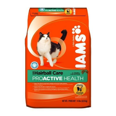 Iams Proactive Health Adult Hairball Care, 14-Pound Bags