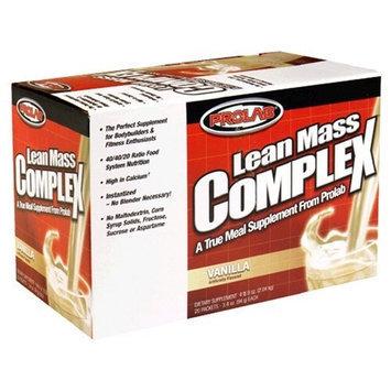 Musclemaster ProLab Lean Mass Complex, Vanilla 20 pk