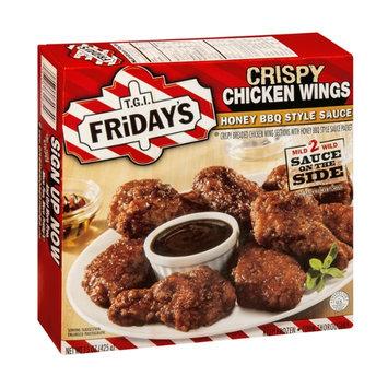 T.G.I. Friday's Crispy Chicken Wings Honey BBQ Style Sauce