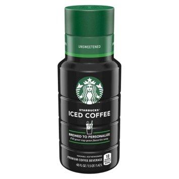 Quaker Starbucks Iced Coffee Unsweet 48oz
