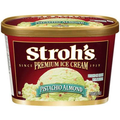 Stroh's Premium Pistachio Almond Ice Cream, 1.5 qt