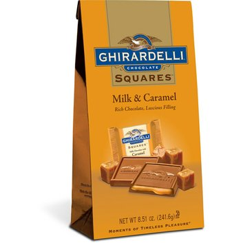 Ghirardelli Milk And Caramel Squares Candy