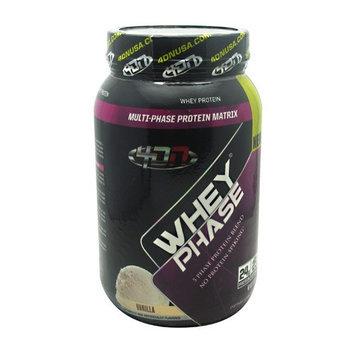 4D Nutrition 7620054 Whey Phase Vanilla - 2 Lbs.