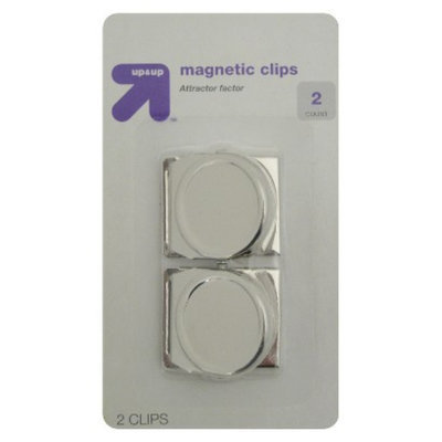 up & up up&up Magnet Clips Chrome 2-ct.