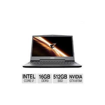AORUS X3PLUS-CF1 Intel Core i7 2x 8GB Memory 2x 256GB SSD NVIDIA GeForce GTX 870M 13.9