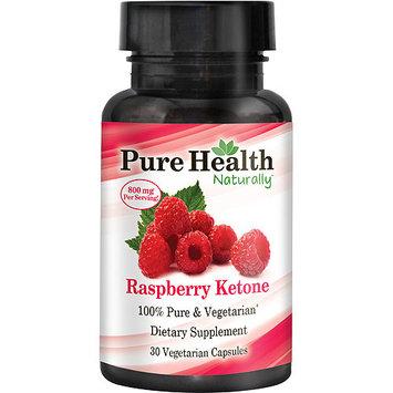 Pure Health Raspberry Ketone Dietary Supplement, 30 count