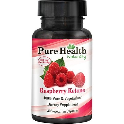 Pure Health Raspberry Ketone Dietary Supplement, 30 count