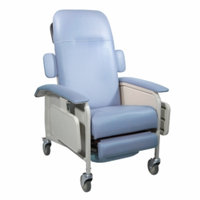 Drive Medical Clinical Care Geri Chair Recliner, Blue Ridge, 1 ea