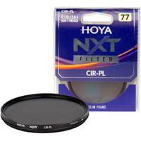 Hoya 77mm NXT Circular Polarizing Slim Frame Glass Filter