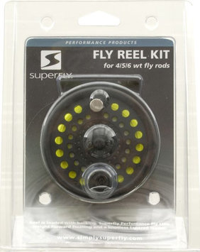 Superfly SuperFly Fly Reel Kit with Line, 4/5/6