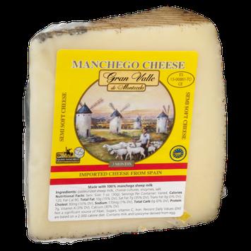 Gran Valle De Montecelo Manchego Cheese