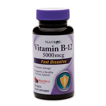 Natrol Vitamin B-12 5000mcg Fast Dissolve