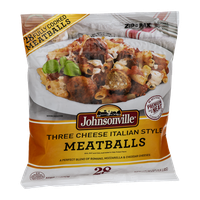 Johnsonville Meatballs Three Cheese Italian Style