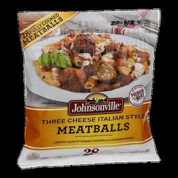 Johnsonville Meatballs Three Cheese Italian Style