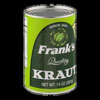 Frank's Quality Kraut 14 OZ