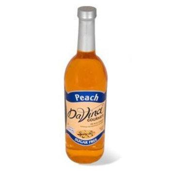 Davinci Gourmet Da Vinci SUGAR FREE Peach Syrup 750mL with Splenda