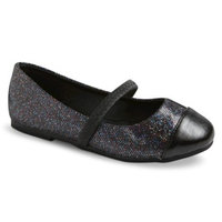 Toddler Girl's Teagan Ballet Shoes - Black 9