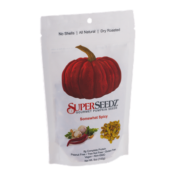 SuperSeedz Gourmet Pumpkin Seeds Somewhat Spicy
