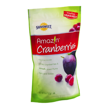 Sunsweet Amazin Cranberries Dried Fruit