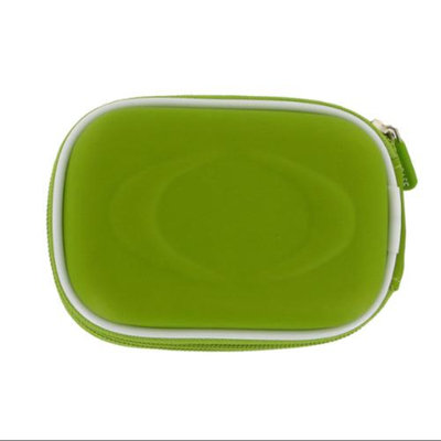 rooCASE EVA Hard Shell (Green) Carrying Case with Memory Foam for Kodak EasyShare C195 Digital Camera