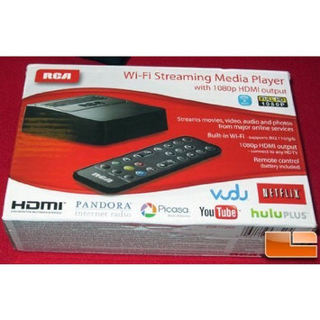 RCA Wi-fi Streaming Media Player DSB772E with 1080p HDMI output