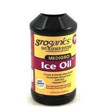 Groganics DHT Ice Oil Moisturizer Scalp 4oz