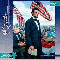 Buffalo Games Civil War Gettysburg Address 1000 Pcs Ages 14+