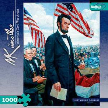 Buffalo Games Civil War Gettysburg Address 1000 Pcs Ages 14+