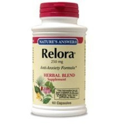NATURE'S ANSWER, Relora Standardized - 60 vegicaps