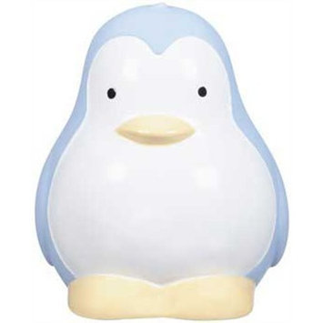 JW Pet Company Large Squeaksters Penguin Dog Toy, Colors Vary